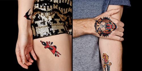 De faux tatouages fait par de vrais tatoueurs