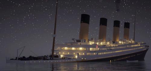 Revivez le naufrage du Titanic en temps réel dans une super animation 3D