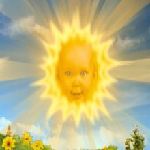 On a retrouvé le soleil des Teletubbies