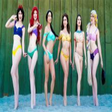 Les maillots de bain inspirés des princesses Disney